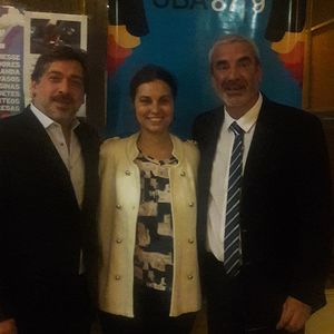 Dr. Carlos Tambussi y Dr. Norberto Darcy