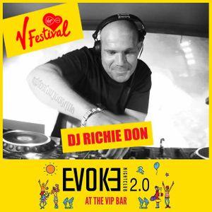 V Festival 2016 - DJ Richie Don - VIP Arena Chelmsford - 20.8.16