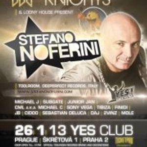 Toolroom Knights Presents Stefano Noferini-Finidi VS JB (26.1.12 YES club)