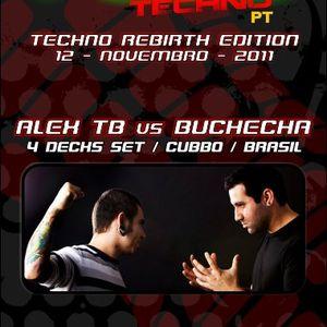 Alex TB vs Buchecha - 4 Decks @ Fuel Techno PT - Leiria - Portugal -12.11.2011