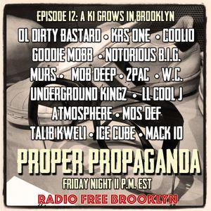 """Proper Propaganda Ep. 12, """"A Ki Grows in Brooklyn"""""""