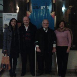 Dres. Luis Alberto Rodriguez Fontán y Roberto Degrosi; Presidente e integrante de la Comisión de Seg