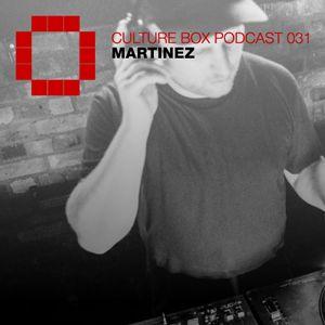 Culture Box Podcast 031 - Martinez