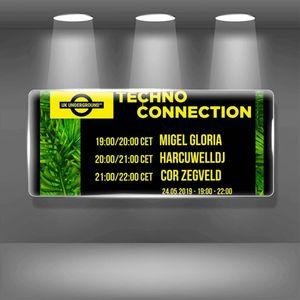 Cor Zegveld exclusive radio mix Techno Connection UK Underground FM 24/05/2019