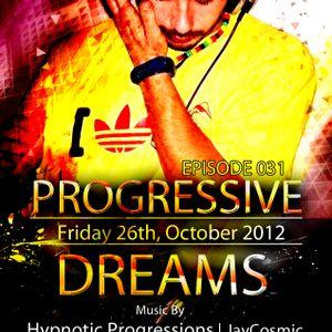 Hypnotic Progressions - Progressive Dreams 31 @ Tribal Mixes Radio (10-26-12)
