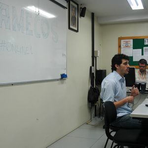 Entrevista coletiva com Alexandre de Santi