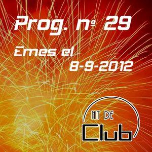 Nit de Club - prog nº29 - 08/09/2012