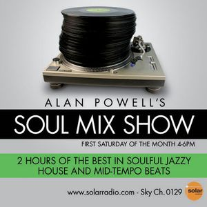 The Soul Mix Show on Solar Radio....4th August.