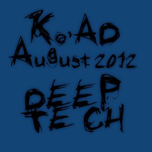 DJ Ko'Ad - Deep House Mixtape Aug-12