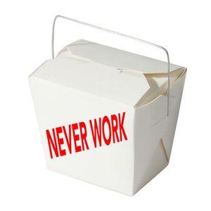 NEVER WORK Lunch #1 w/ Casper Clausen (Efterklang)