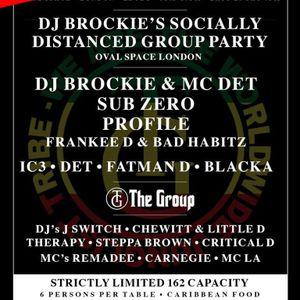 DJ Therapy w/ MC Remadee & MC LA - DJ Brockie's Group Party - Oval Space - 24.10.2020