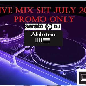 DJ BORIS JULY 2016 LIVE  MIX
