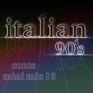 Italian 90s - Conte mini mix 12