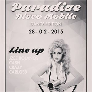 HORA 1 / PARADISE DANCE EDITION PARTY / 28 FEB 2015 / GARDEN LOUNGE / CALI-COLOMBIA
