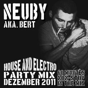 Neuby aka. DJ Bert - House & Electro Party Mix 12.2011