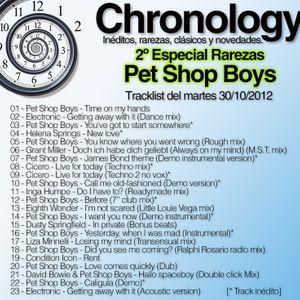 Chronology 30oct2012 (2do especial PSB)