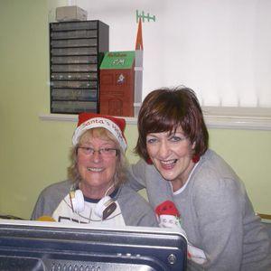 Sharon Davis with Linda Francis 18.12.2016