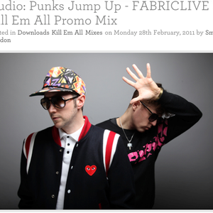 Punks Jump Up Fabric mix Feb/March -11
