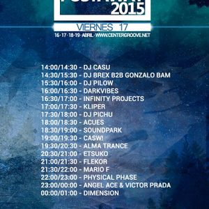 Mario F - ADN Postaway 2015 @ Center Groove Radio (17.04.2015)