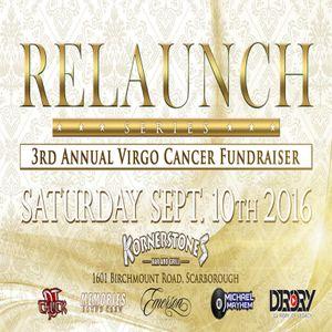 3rd Annual Virgo Cancer Fund Raiser Promo Mix - DJ Chuck X DJ Michael Mayhem