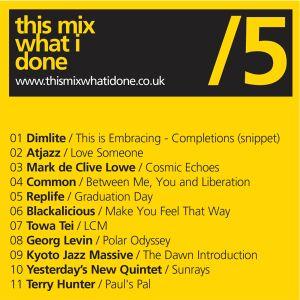 05 Mix #5 @ www.thismixwhatidone.com
