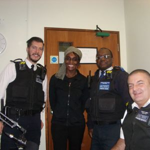 Lady J.J. Interviews Sydenham's Community Support Officers ,Shaun,Peter and Jonathan