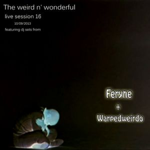 The weird n' wonderful on Future Music FM live session 16