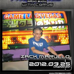 Zack Marullo live @ Night Frequency Radio Show (PrimeFM)
