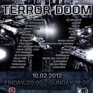 Dj XiloX - Clash of the Titans - TERROR DOOM on Sthoerbeatz Radio Germany 2012.02.10.