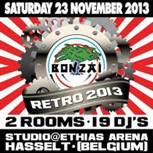DJ Fire & CP at Bonzai Retro 2013 at Ethias Arena (Hasselt-Belgium) - 23 November 2013