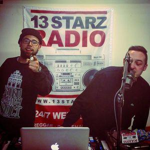 OBF & Sr WILSON Live Reggae/Dub Mix on #13StarzRadio