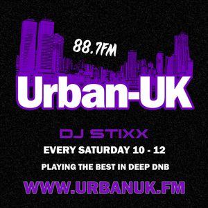 URBAN UK: DJ STIXX METRIC SHOW [EVERY SATURDAY 10PM - 12AM] 30/06/16 w/ JEX