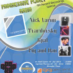 G-Pal - 99% Recordings Big Special Broadcast # 026 Jul 2012