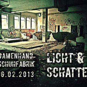 PHILIPP AUSTINAT & MACEO MAHNE @ Alte Damenhandschuhfabrik 16.02.13 --Licht & Schatten