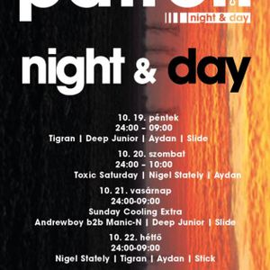 Nigel Stately & Aydan - Live @ Patron Club,Budapest After Party (2012-10-21)