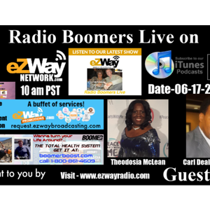 Radio boomers live S8 EP 40 with Theodosia & Carl Wilson CD Willson Events