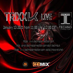 TrixX K LIVE 13/01/2021 on Techno Connection