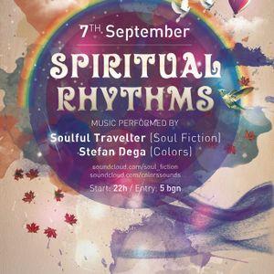 SPIRITUAL RHYTHMS w. Soulful Traveller & Stefan Dega live @ Culture Beat 07.09.2013