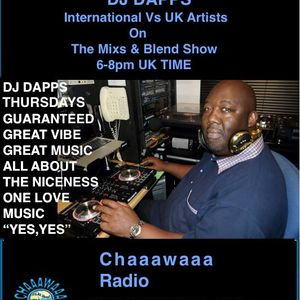 Come and join me TONIGHT!!! for my International Artist Vs UK Artist, on the 07/09/2017.