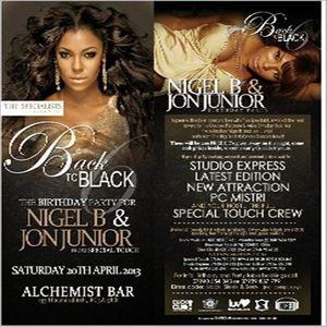 NIGEL B & JON JUNIOR'S B'DAY (2013)(SLOW JAMS 1)