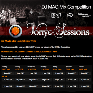 DJ Mag Mix Competition Week @ Vonyc Sessions, Day 1