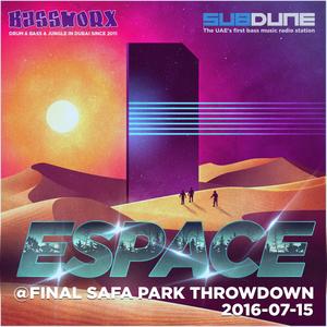 Espace (Bassworx) Live @ Safa Park Throwdown (2016-07-15)
