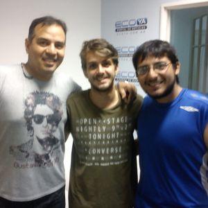 POR VELEZ Con Tomas Amerio y Sebastian Auro 25-3-2016