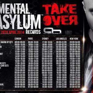 XGenic Guest Mix @ Mental Asylum Day 29th April 2014