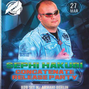 Sephi Hakubi feat. Armani Berlin - LIVE @ The Amp Room - Concatenate Release Party 03.27.2016