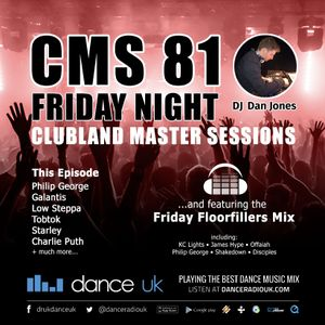 CMS81f - Clubland Master Sessions (Fri) - DJ Dan Jones - Dance Radio UK (16 JUN 2017)
