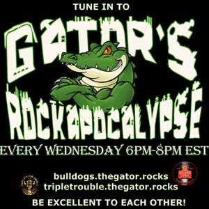 Show #78 - Gator's Rockapocalypse  King Diamond, Slaughter, Iron Maiden, Metallica, Ozzy + much more
