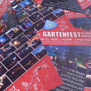c.feuersenger - PROMO DJ MIX Gartenfest auf dem Campus 31.8.2013