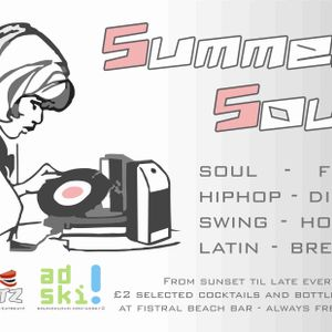 EatBeatz - Summer Soul House Mix Live @ Fistral Beach Bar 29=04=11