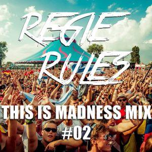 DJ REGIE RULES  - THIS IS MADNESS MIX #02